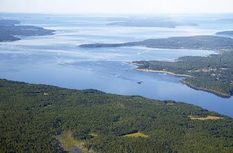 Photo: Penobscot Bay and Cape Jellison