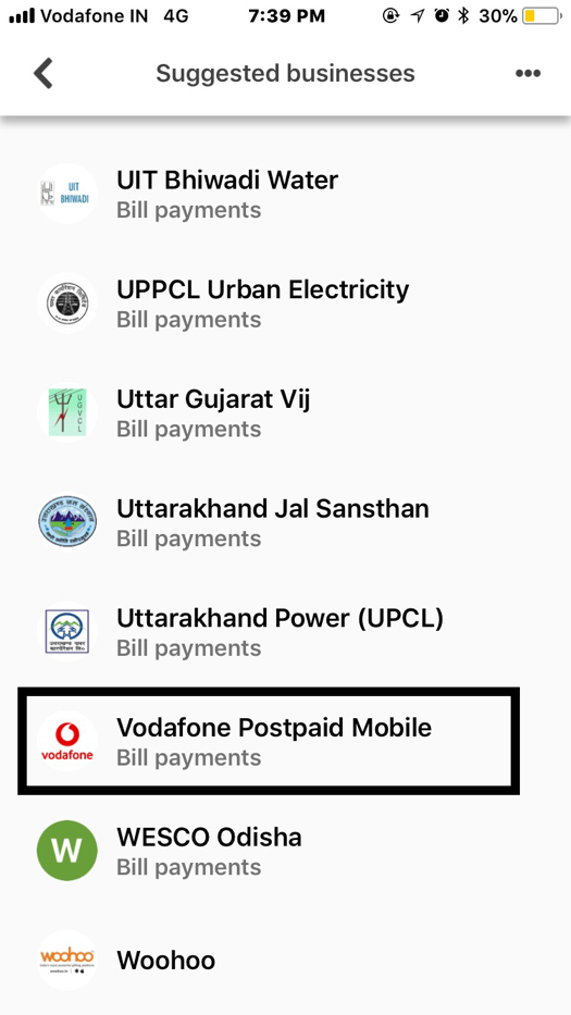 Google tez ios vodafone payment | Airtel not supported yet