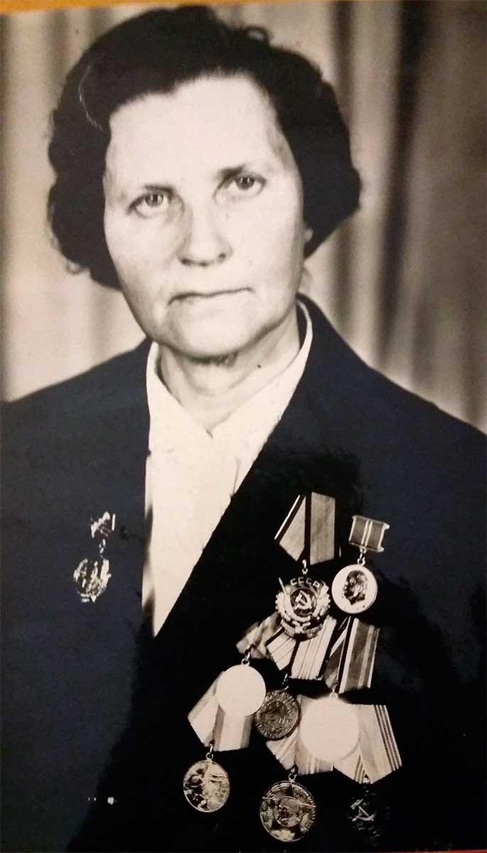 Нина  Григорьевна  Середа
