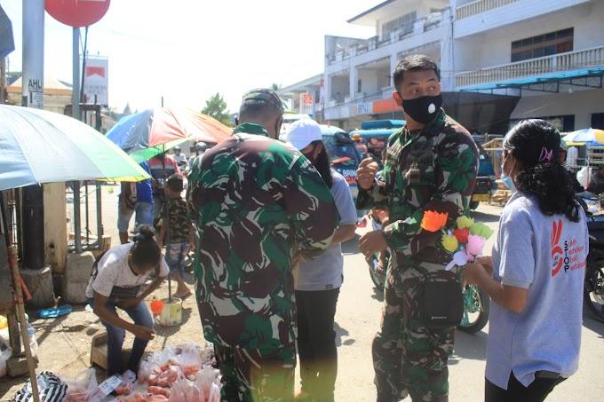 TNI Dukung Kampanye Dalam Rangka Peringatan  16-HAKTP Tahun 2020 Kabupaten Belu, NTT