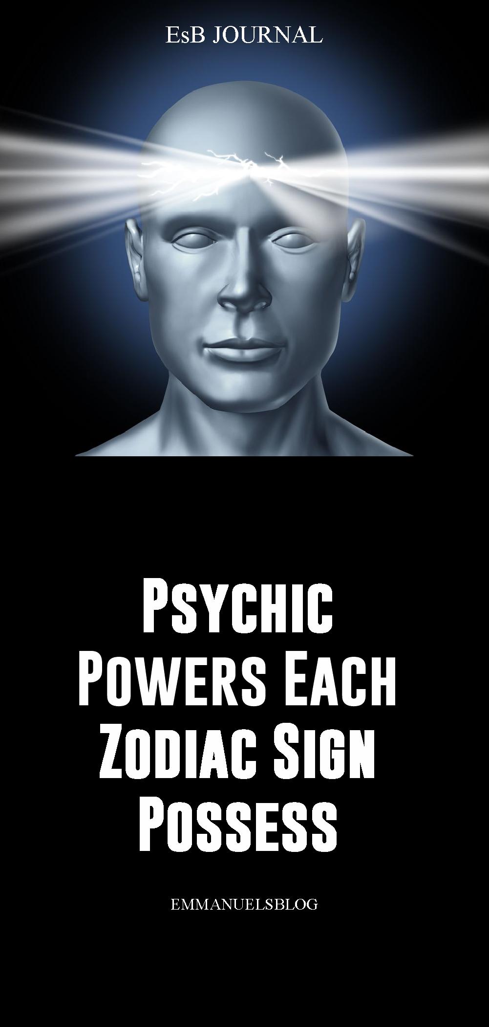 Psychic Powers Each Zodiac Sign Possess REVEALED