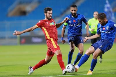 ملخص واهداف مباراة الهلال وضمك (2-0) الدوري السعودي