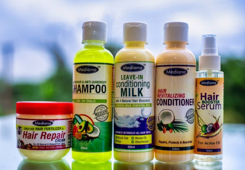 FIVE POWERFUL MEDIANA PRODUCTS FOR HAIR CARE