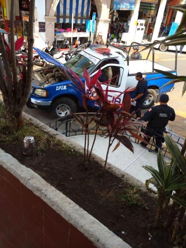 FOTOS: Policía Federal desarma a policías municipales de Los Reyes Michoacán: