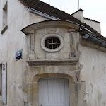 Hôtel du Croissant : porte est