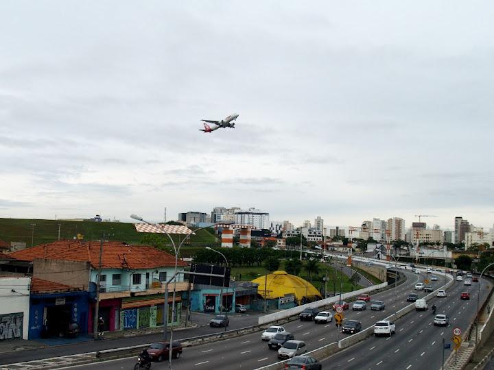 Сан-Паулу, аэрорпорт Congonhas (CGH): терминалы, транзит