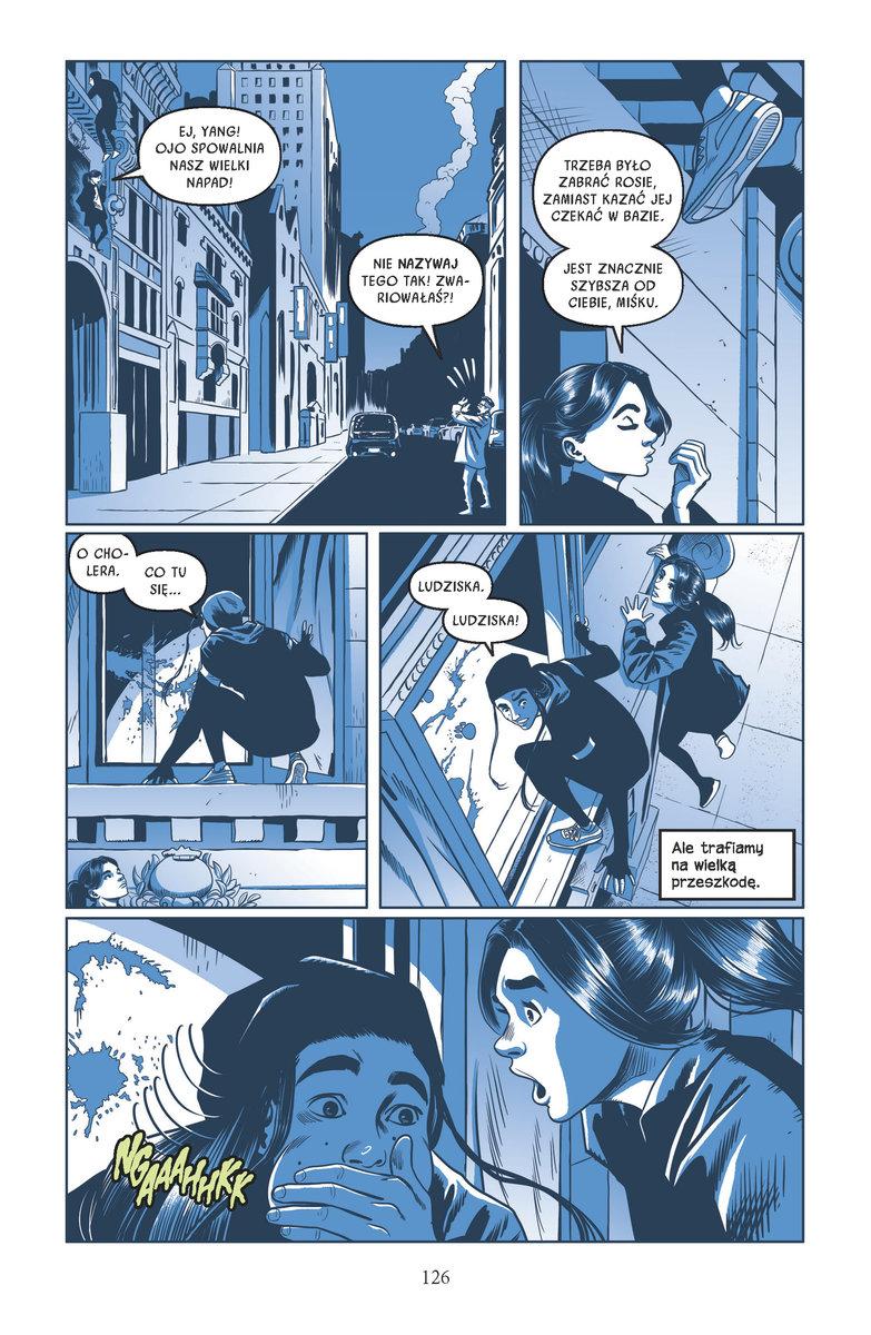 Catwoman W blasku Księżyca przykładowa strona