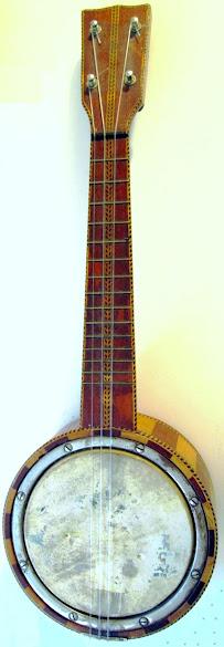 Sherman Clay & Co. Banjolele banjo ukulele circa 1922 made by Kumalae