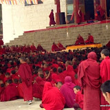 Massive religious gathering and enthronement of Dalai Lama's portrait in Lithang, Tibet. - l88.JPG