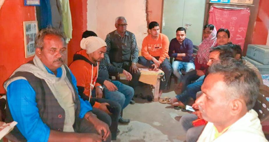 जगदीशपुर में किसान नेताओं ने आंदोलन में जान गंवाने वाले किसानों को दी श्रद्धांजलि,