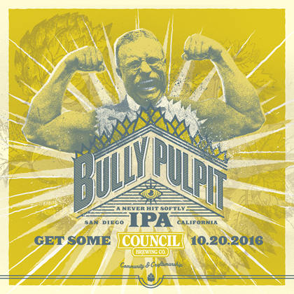 「Council / Bully Pulpit IPA」の画像検索結果