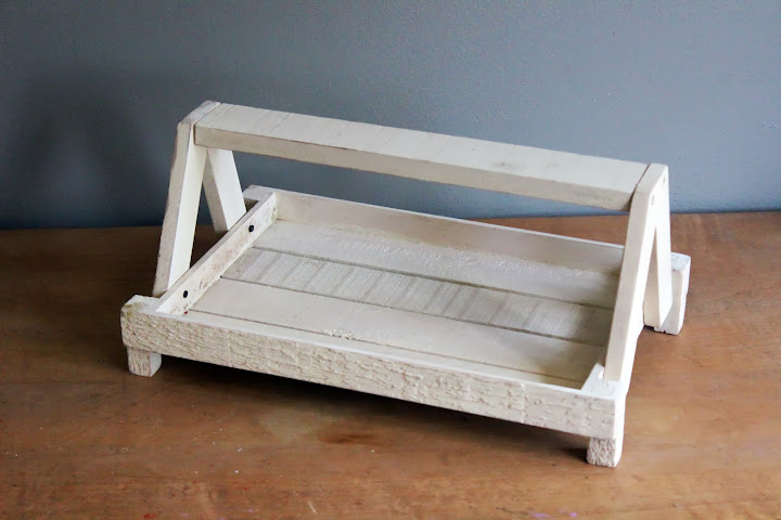 Cream-colored wooden trays available for rent from www.momentarilyyours.com, $4 each.
