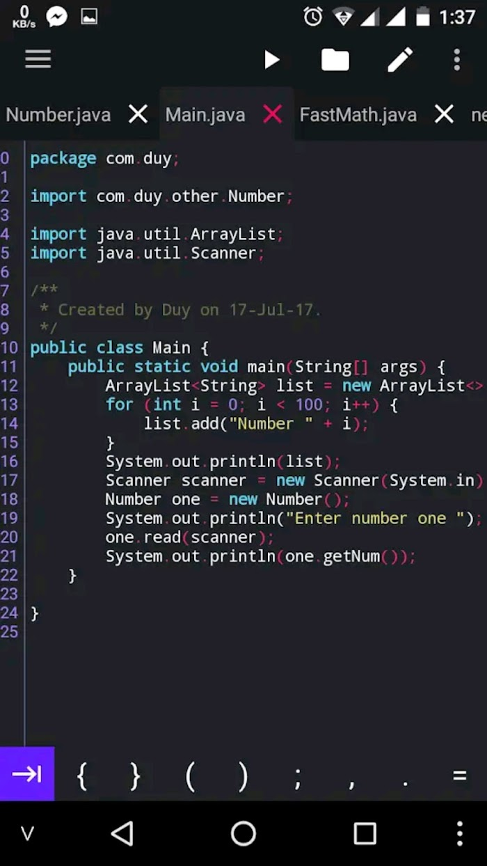 How to Write and Compile Java Programs on Android offline