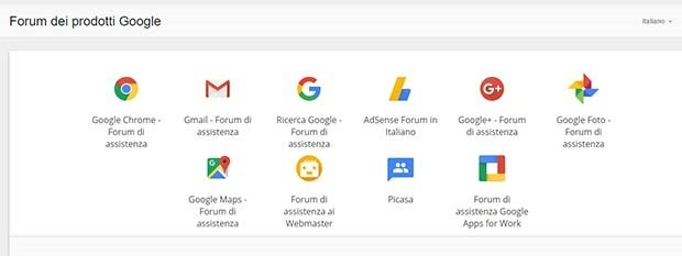 forum-assistenza-google