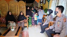 Kapolres Datangi Rumah Milik Emak-Emak Yang Hadang Pemuda Saat Bali Usai Santap Sahur