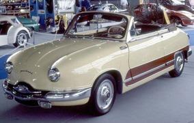 Panhard 1958 Dyna cabriolet