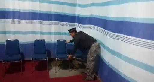 Crew At-Taubah Channel Peduli Sambangi Posko Pengamanan Hari Raya 1440 Hijriah