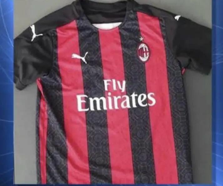 Bocoran Jersey AC Milan 2020-2021 oleh Claudio Raimondi