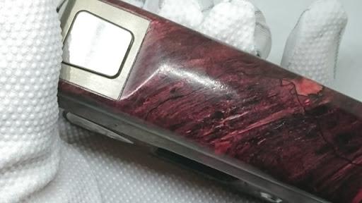 DSC 3101 thumb%255B2%255D - 【MOD】VICIOUS ANT 「KNIGHT STABWOOD #084(SX550J)」レビュー。YiHiハイエンドチップを搭載したスタビMOD!カラー液晶&Bluetooth【高級/スタビライズドウッド/電子タバコ/VAPE/フィリピン製】