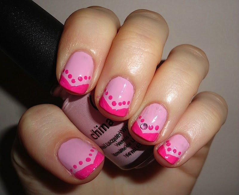 Valentine s day nails 1