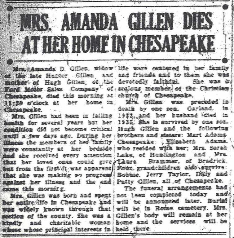 [GILLEN_Amanda+nee+Adams_obituary_1937_Ironton+Evening+Tribue_Ohio_cropped%5B5%5D]
