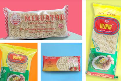 Distributor Mie Telur Terbaik di Indonesia