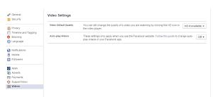 Hướng dẫn cách tắt auto play video trên facebook