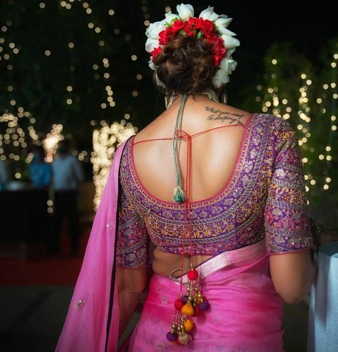 Bhargavi Kunam Saree and Half Saree Perfectly Defines Elegance And Grace.