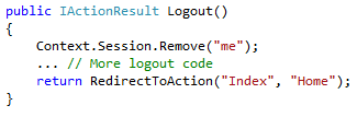 Context.Session.Remove()