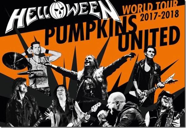 Helloween gira 2017 en Mexico Arena Ciudad de Mexico compra boletos