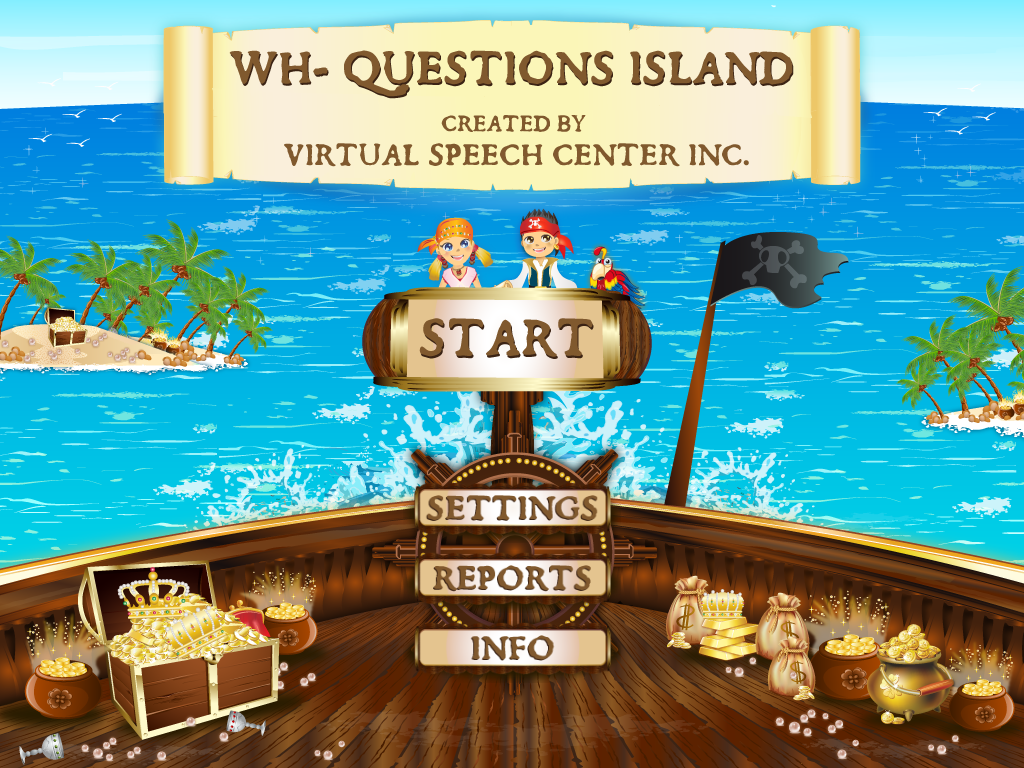 WH Questions Island Main Page
