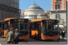 Nuovi autobus ANM