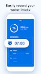 screenshot of Drink Water Tracker: Water Reminder & Alarm