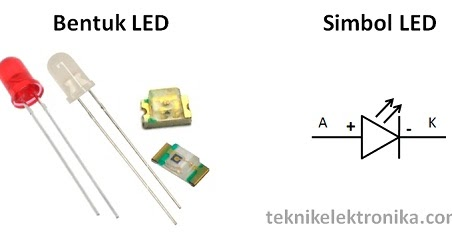 ELEKTRONIKA MARIO GIBOL: Cara kerja LED(Light Emitting Diode)
