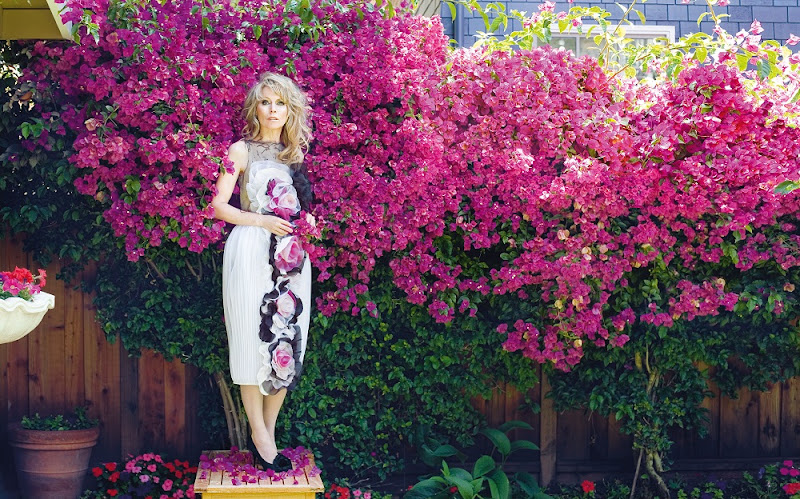 Rodarte, Dress, Spring/Summer 2007. Chanel, Shoes. Palo Alto, California  Electric Fashion © 2014 Frederic Aranda