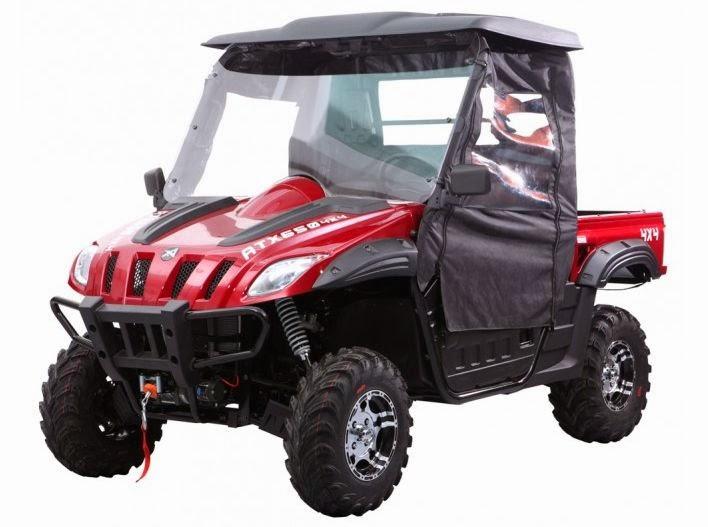 600cc EFI 4x4 ATX Hyosung Suzuki powered Farm Utility UTV