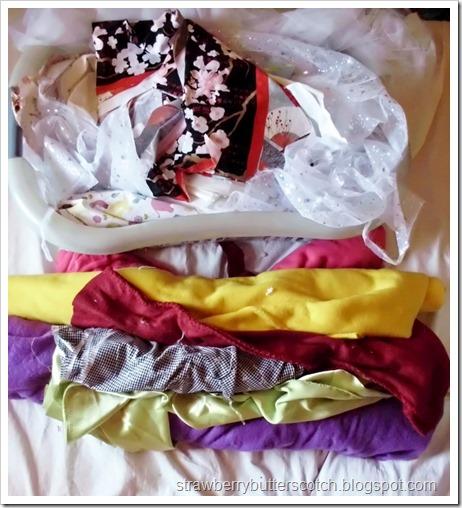 Major Craft De-Stash, Part 2: Fabric!