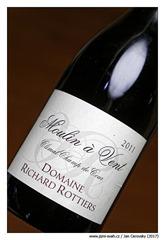 """Domaine-Richard-Rottiers-Moulin-à-Vent-""""Climat-Champ-de-Cour""""-2011"""