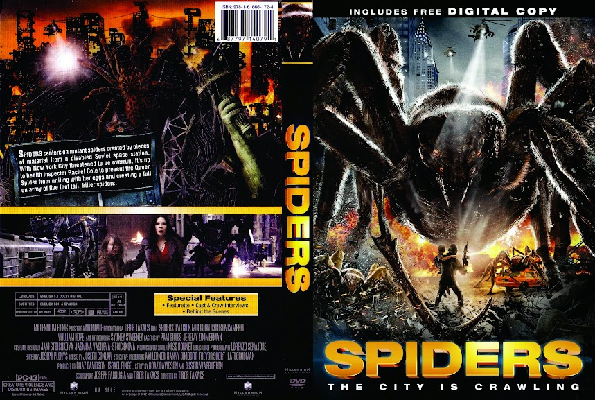 Baixar Filme spiders 2013 ws r1 front www.getdvdcovers.com  Spiders (2013) DVDRip AVi Legendado torrent