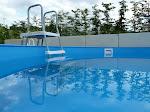 Und hier die neue Pool-Leiter