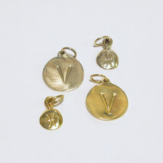 14K White & Yellow Gold Charms