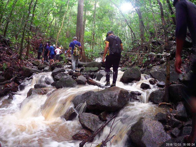 laluan ke air terjun sungai koo_1i