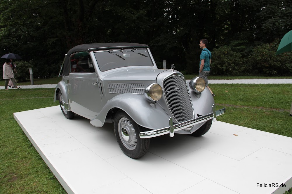 Škoda Rapid Cabrio de Luxe 1937