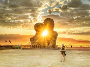 Photo: Trey Ratcliff from http://www.StuckInCustoms.com — Feel free to share, make wallpapers, have fun! The full Burning Man album is at http://stuckincustoms.smugmug.com/Burning-Man-Page