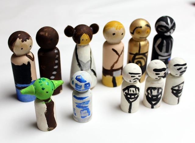 Star Wars Peg People