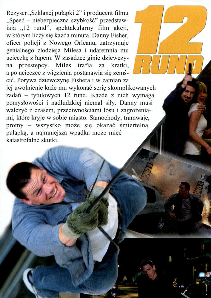 Ulotka filmu '12 Rund (tył)'