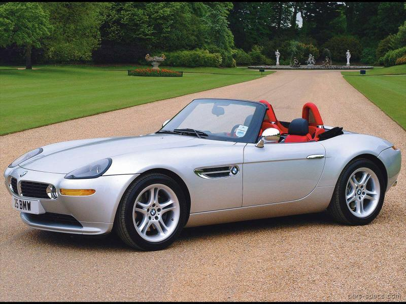 2000 Bmw Z8 Convertible Specifications Pictures Prices