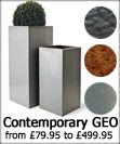 Large Fibreglass GEO Planters by Capital Garden Products