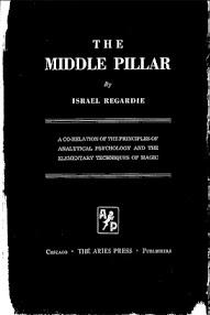 Cover of Israel Regardie's Book Middle Pillar