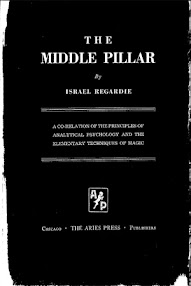Cover of Israel Regardie's Book Middle Pillar